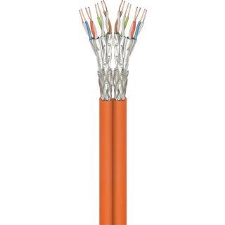 Netzwerkkabel LAN DSL 100 m CAT7 Duplex Netzwerk Kabel