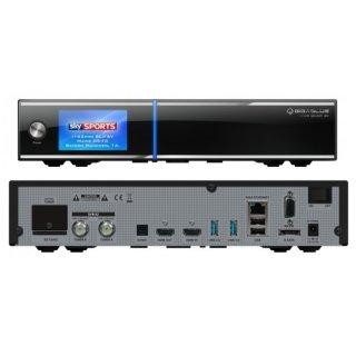 GigaBlue UHD Quad 4K mit 2 x DVB-S2 FBC Tuner