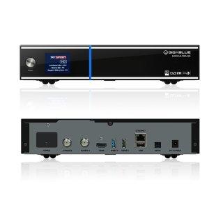 GigaBlue UHD UE 4K mit 2 x DVB-S2 FBC Tuner