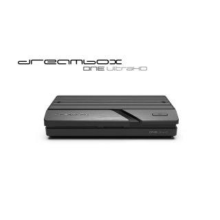 Dreambox One Ultra HD 2x DVB-S2X Multistream Tuner 4K 2160p E2 Linux Dual Wifi H.265 HEVC