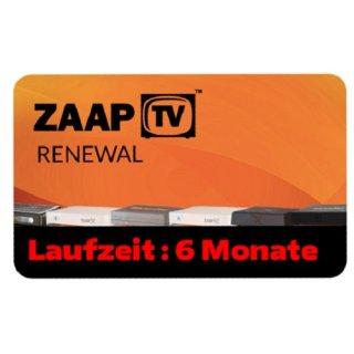 ZaapTV HD409N, HD509N, HD509NII, CLOODTV, X, HD609N - Arabisches Senderpaket - 6 Monate Verlängerung