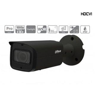 Dahua Schwarze Überwachungskamera- HAC-HFW2241TP-Z-A-DP-B - HDCVI - BULLET