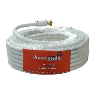 5m Koax Kabel Anaconda CPR max. 95 dB Doppelt abgeschirmt