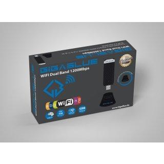 GigaBlue 1200 MBit Wlan Stick Dual Band USB 3.0