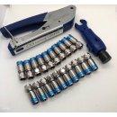 Cabelcon Set Bestehend aus Kompressionszange Pocket Tool...