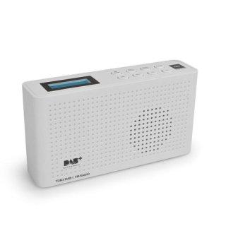 Opticum Red Ton 3 Weiß – Digitales DAB+/FM Radio mit LCD Display