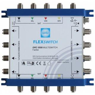 WISI DRC0508 Flexswitch Multischalter 5/8 terrestr. aktiv